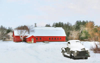 Digital Art - Vermont Memories by Sharon Batdorf