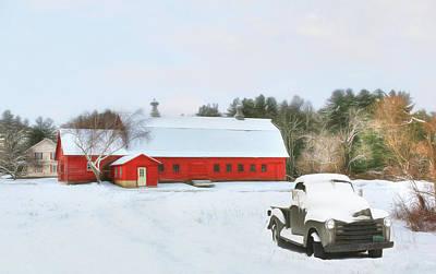 Digital Art - Vermont Memories by Sharon Batdorf
