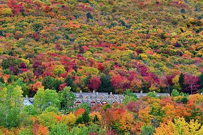 Photograph - Vermont Mountain Village by William Jobes