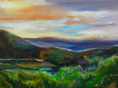 Painting - Vermont Outlook by Grace Diehl