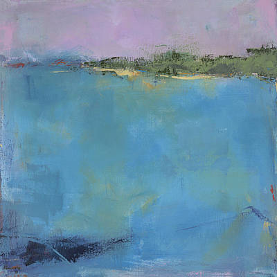 Nature Abstract Painting - Vermont Pond by Jacquie Gouveia