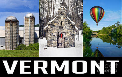 Photograph - Vermont Poster by Edward Fielding