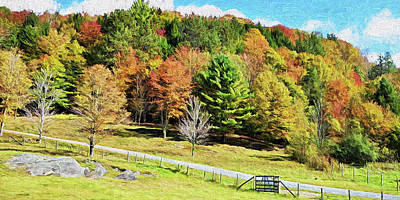 Photograph - Vermont Scenery Northeast Kingdom by Rena Trepanier