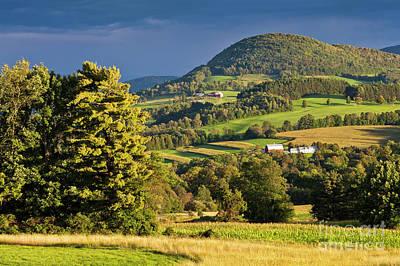 Photograph - Vermont September Landscape by Alan L Graham