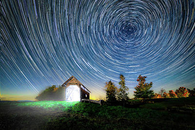 Photograph - Vermont Starry Night by Dana Plourde