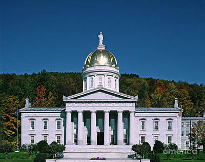 Photograph - Vermont State House - To License For Professional Use Visit Granger.com by Granger