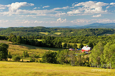 Photograph - Vermont Summer Vista by Alan L Graham