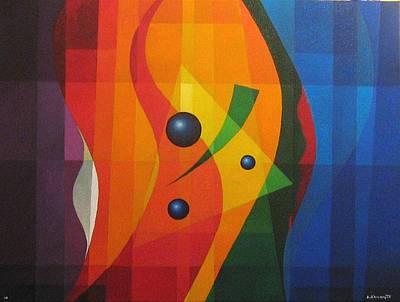 Vernal Composition Art Print by Alberto DAssumpcao