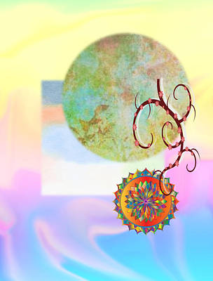 Jenna Thomas Wall Art - Digital Art - Vernal Dreams by Jennifer Thomas
