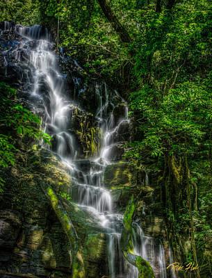 Photograph - Vernal Fall At Rincon by Rikk Flohr