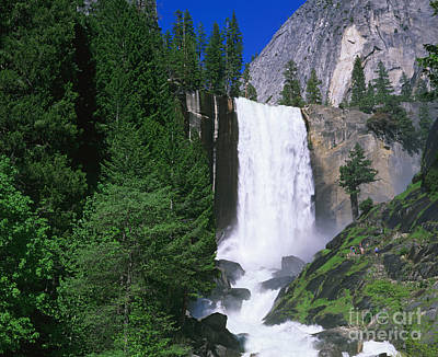 Photograph - Vernal Falls by Dennis Flaherty