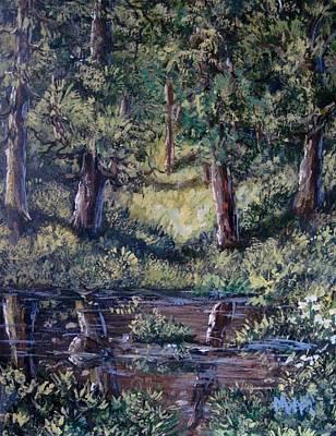 Painting - Vernal Pool 1 by Megan Walsh