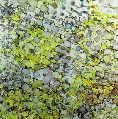 Painting - Vernal Showers Ink #12 by Sarajane Helm