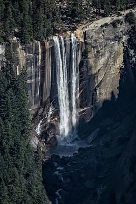 Photograph - Vernal Fall From A Distance by Belinda Greb