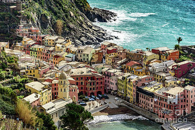 Photograph - Vernazza, Cinque Terre, Italy by Global Light Photography - Nicole Leffer