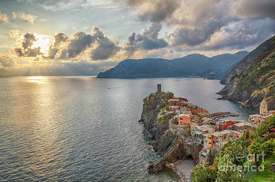 Photograph - Vernazza From Above by Jennifer Ludlum