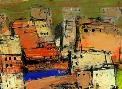 Painting - Vernazza by Gary Reddick