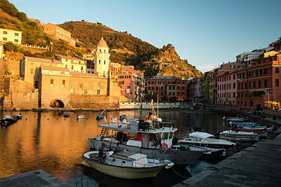 Photograph - Vernazza I by Yuri Santin