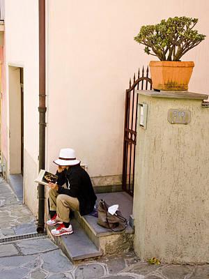 Photograph - Vernazza, Italy, 2010. by John Jacquemain