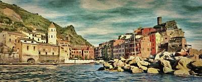 Painting - Vernazza by Jeffrey Kolker