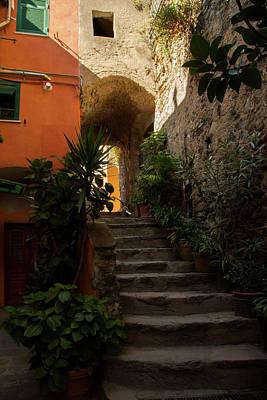 Vernazza Stairway 1 Art Print by Art Ferrier
