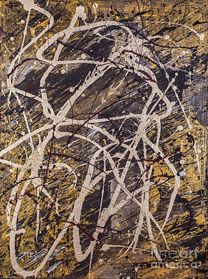 Natural Resources Painting - Verness The Vein by Bruce Stanfield