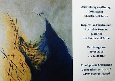 Photograph - Vernissage by Christiane Schulze Art And Photography
