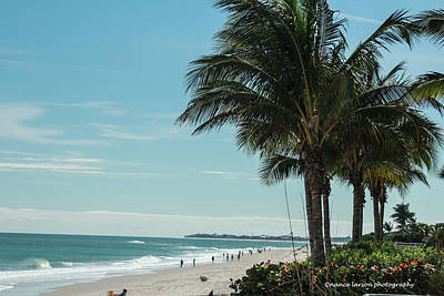 Photograph - Vero Beach Beach by Nance Larson
