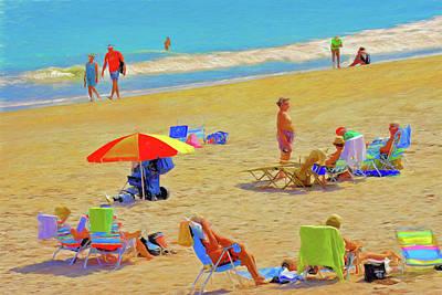 Vero Beach Paradise Art Print by Charles Haaland