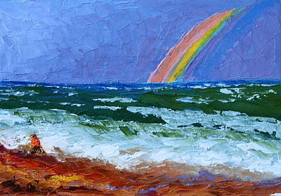 Painting - Vero Beach Rainbow by Chrys Wilson