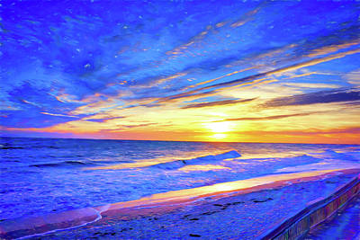 Vero Beach Special Sunrise Art Print by Charles Haaland