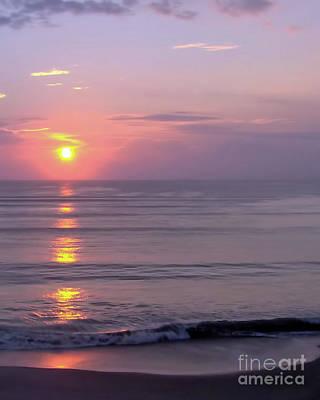 Photograph - Vero - Beach -  Sunrise by D Hackett