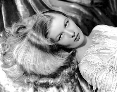 Veronica Lake Art Print by American School