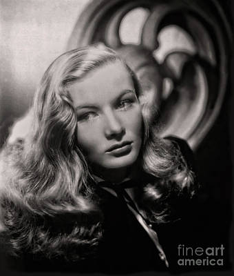 Photograph - Veronica Lake Art by Doc Braham
