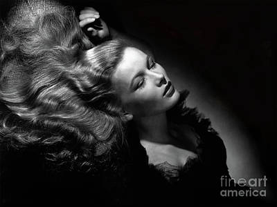 Photograph - Veronica Lake  by Doc Braham