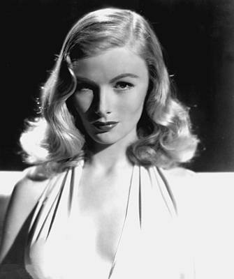 Veronica Lake, Portrait, As Seen Art Print
