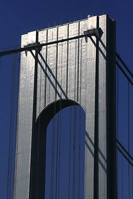 Photograph - Verrazano Narrows Bridge by Christopher Kirby