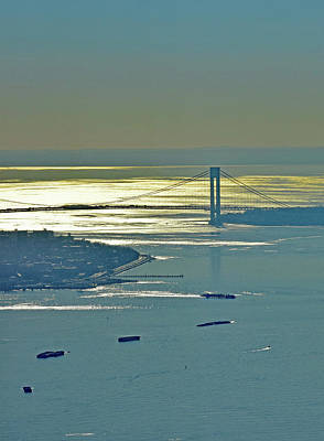 Photograph - Verrazano-narrows Bridge No. 4-1 by Sandy Taylor