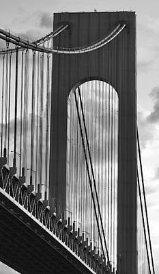 Verrazano Narrows Bridge Original by Tom Cheatham