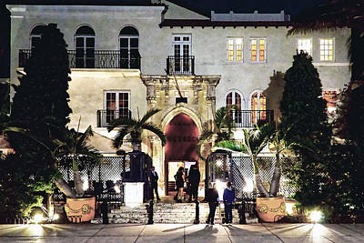Photograph - Versace Mansion South Beach by Gary Dean Mercer Clark