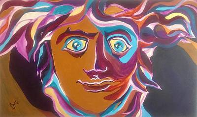 Versace Medusa Original by Aaron Hill
