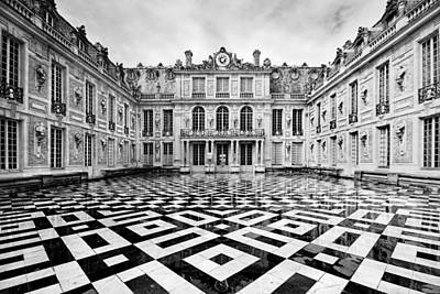 Paris Wall Art - Photograph - Versailles Architecture Paris by Pierre Leclerc Photography