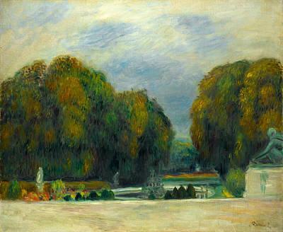 Painting - Versailles by Auguste Renoir