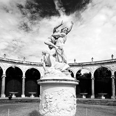 Photograph - Versailles Gardens Statue France by Pierre Leclerc Photography
