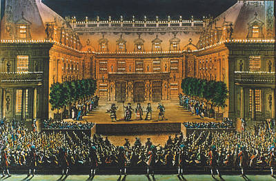 Stage Theater Photograph - Versailles: Opera, 1676 by Granger