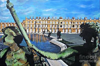 Painting - Versailles Palace by Francine Heykoop