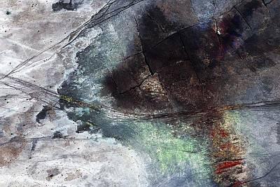 Painting - Verschroeide Aarde by Arie Van Garderen