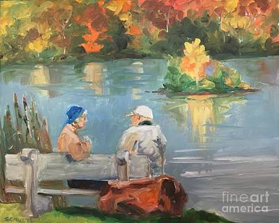 Painting - Canadian Couple by Lynne Schulte
