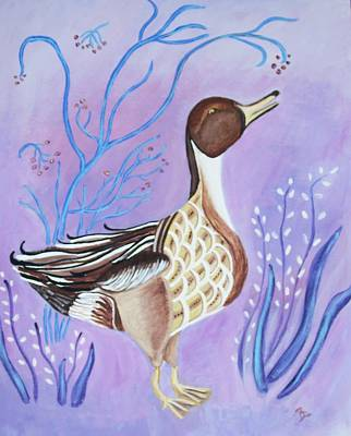 Version Of A Pintail Art Print