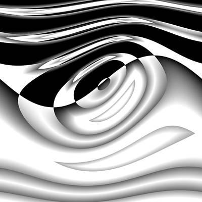 Digital Art - Vertaxiing by Andrew Kotlinski
